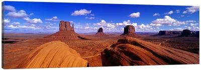 The Mittens & Merrick Butte, Monument Valley, Navajo Nation, Arizona, USA Canvas Print #PIM4086