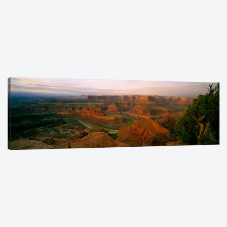 Canyonlands National Park As Seen From Dead Horse Point State Park Overlook Canvas Print #PIM408} by Panoramic Images Canvas Art
