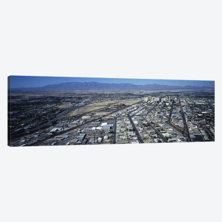 High angle view of a city, Las Vegas, Nevada, USA #3 Canvas Print #PIM4093} by Panoramic Images Canvas Wall Art