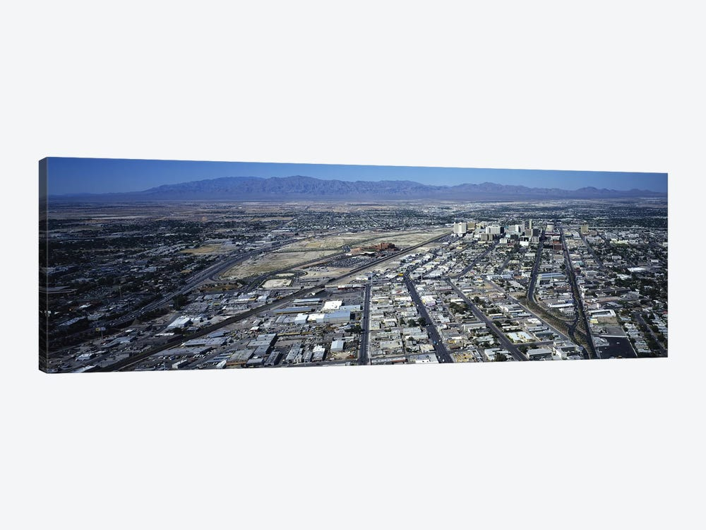 High angle view of a city, Las Vegas, Nevada, USA #3 by Panoramic Images 1-piece Canvas Wall Art