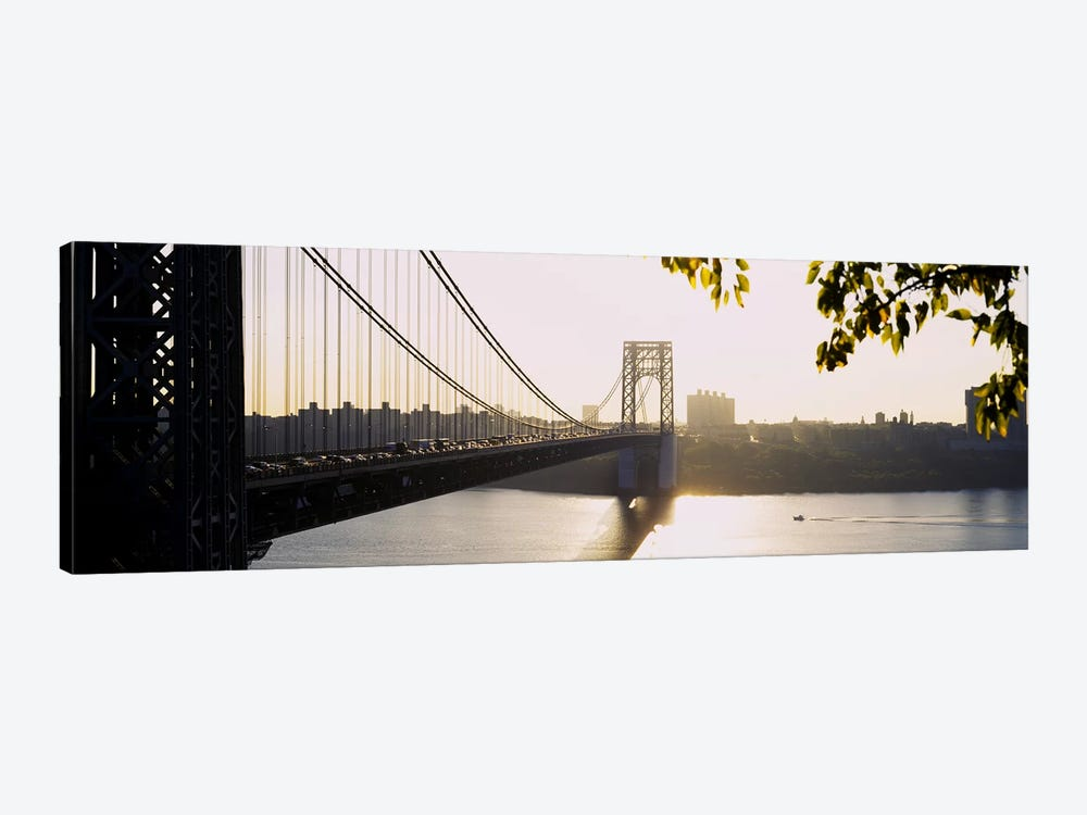 Bridge across the riverGeorge Washington Bridge, New York City, New York State, USA by Panoramic Images 1-piece Art Print