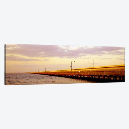 Gandy Bridge Tampa Bay Tampa FL Canvas Print #PIM4108} by Panoramic Images Canvas Art