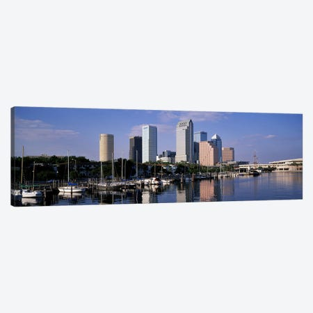Tampa, Florida, USA Canvas Print #PIM4109} by Panoramic Images Canvas Artwork