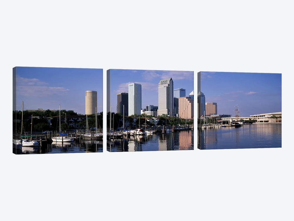 Tampa, Florida, USA by Panoramic Images 3-piece Canvas Artwork