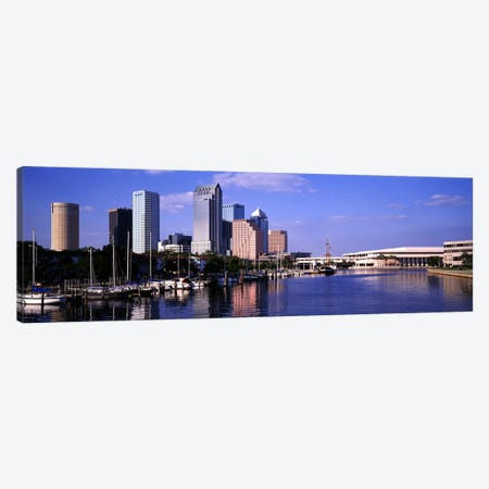 USA, Florida, Tampa Canvas Print #PIM4110} by Panoramic Images Canvas Art Print