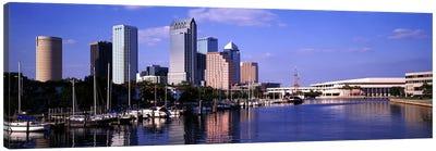 USA, Florida, Tampa Canvas Art Print