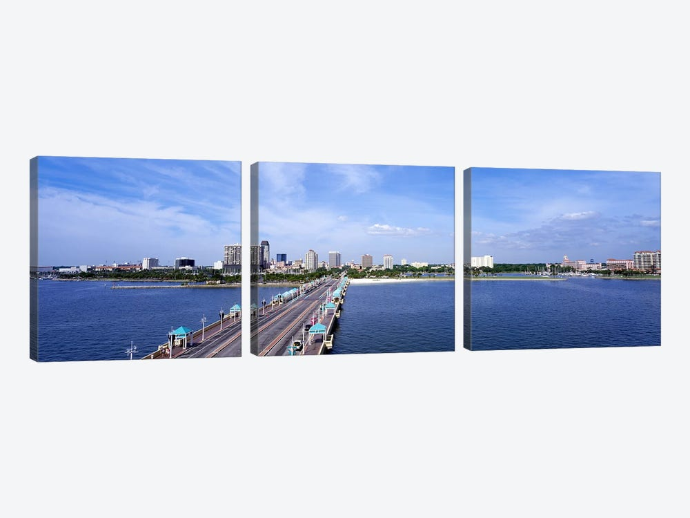 St Petersburg FL by Panoramic Images 3-piece Canvas Art Print