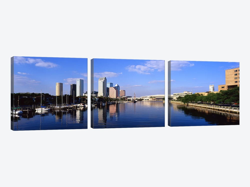 Tampa FL by Panoramic Images 3-piece Canvas Wall Art