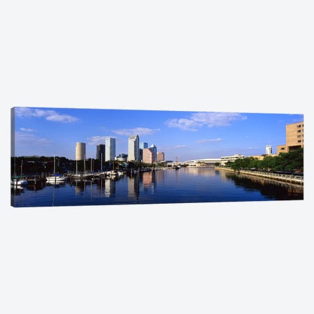 Tampa FL Canvas Print #PIM4112} by Panoramic Images Art Print