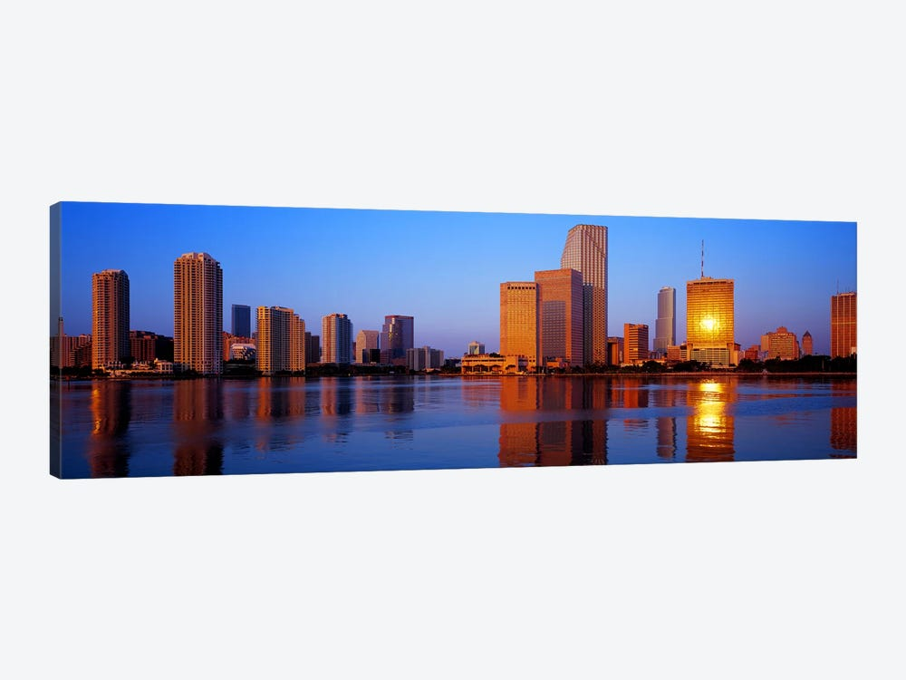 SunriseMiami, Florida, USA 1-piece Canvas Print