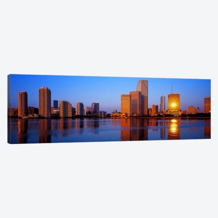 SunriseMiami, Florida, USA Canvas Print #PIM4113} by Panoramic Images Art Print