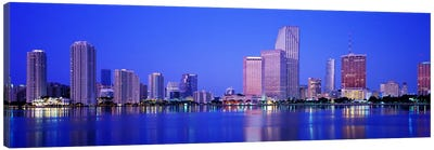DuskMiami Florida, USA Canvas Art Print