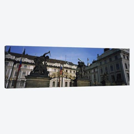 Low angle view of a churchSt Nicholas's Church, Old Town Square, Prague, Czech Republic Canvas Print #PIM4123} by Panoramic Images Canvas Artwork