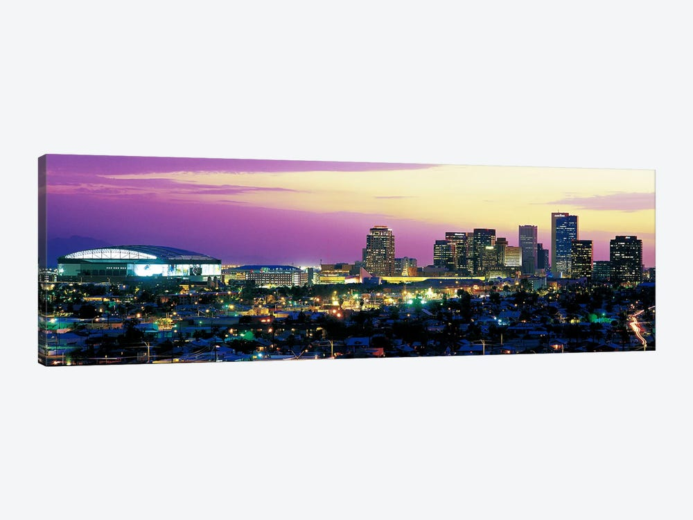 Phoenix AZ by Panoramic Images 1-piece Canvas Wall Art