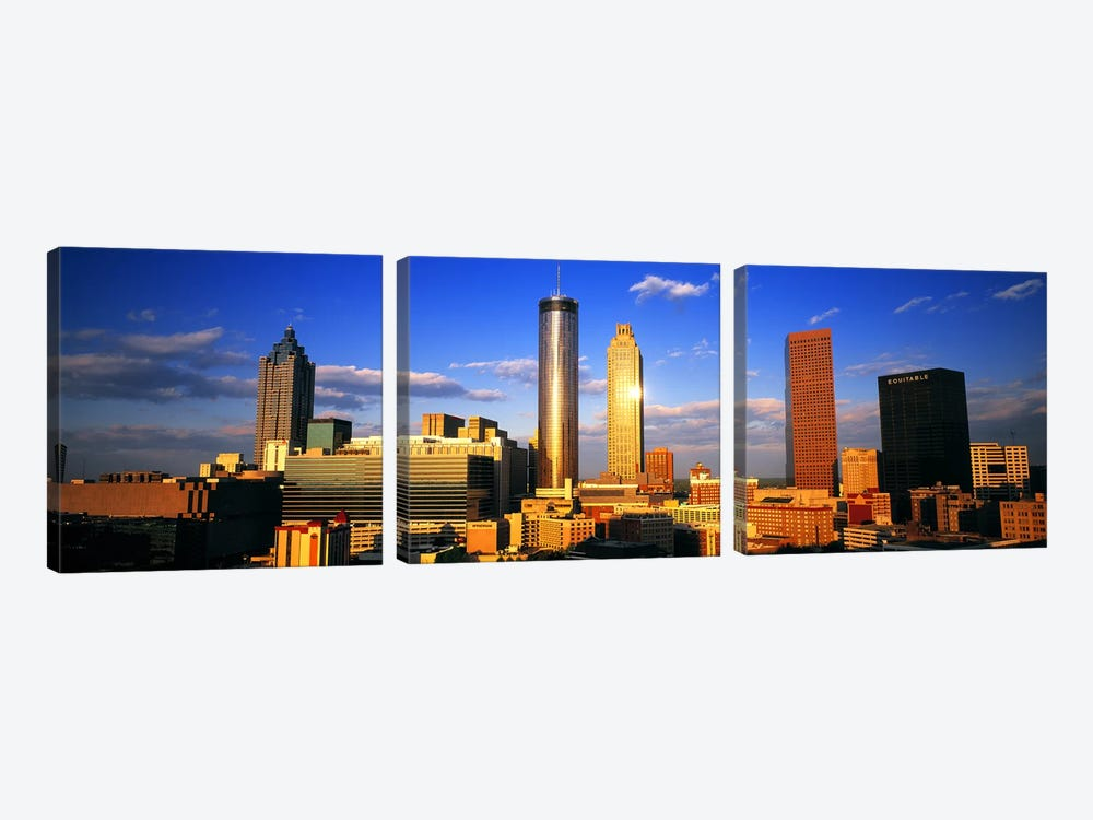AtlantaGeorgia, USA by Panoramic Images 3-piece Art Print