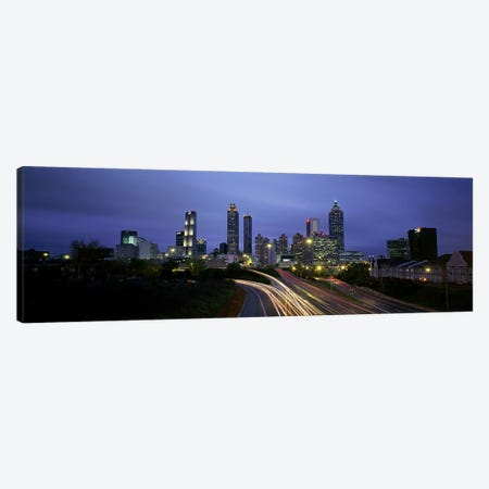 High angle view of traffic on a highwayAtlanta, Georgia, USA Canvas Print #PIM4127} by Panoramic Images Canvas Print