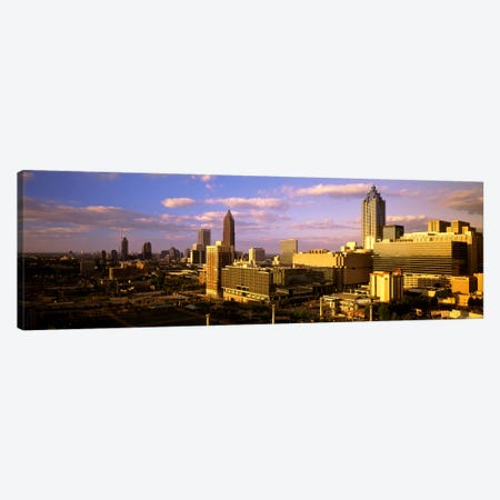Afternoon In AtlantaAtlanta, Georgia, USA Canvas Print #PIM4128} by Panoramic Images Canvas Artwork