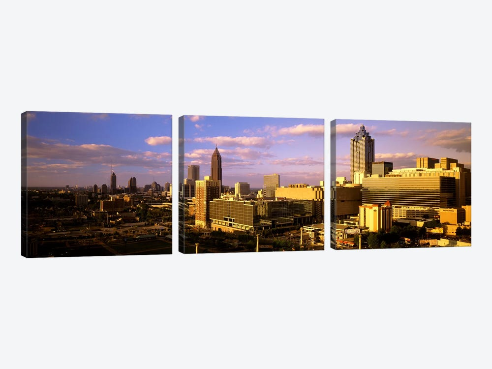 Afternoon In AtlantaAtlanta, Georgia, USA by Panoramic Images 3-piece Canvas Print