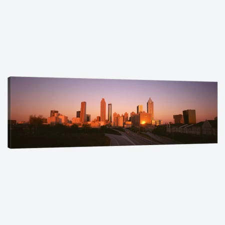 Skyscrapers in a cityAtlanta, Georgia, USA Canvas Print #PIM4129} by Panoramic Images Canvas Artwork