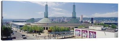 Twin Towers of a Convention Center, Portland, Oregon, USA Canvas Print #PIM4133