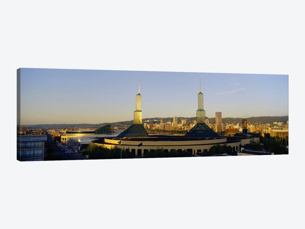 Twin Towers of a Convention Center, Portland, Oregon, USA #2 by Panoramic Images 1-piece Canvas Art