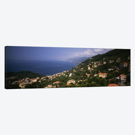 Italian Riviera Italy Canvas Print #PIM4140} by Panoramic Images Canvas Wall Art
