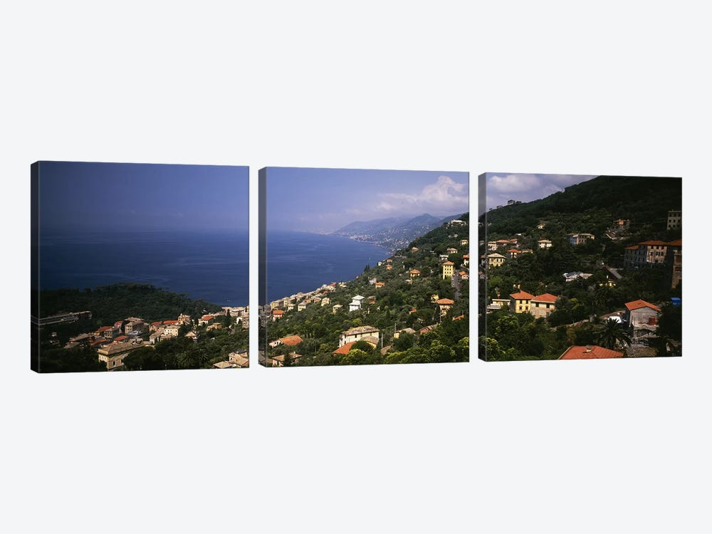 Italian Riviera Italy by Panoramic Images 3-piece Canvas Print