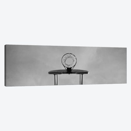 Low angle view of a basketball hoop Canvas Print #PIM4146} by Panoramic Images Canvas Art Print