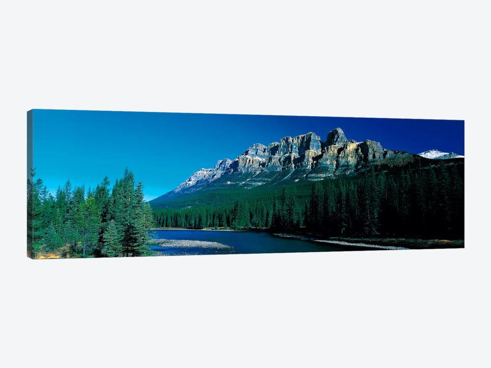 Castle Mountain Banff National Park Alberta Canada 1-piece Canvas Wall Art