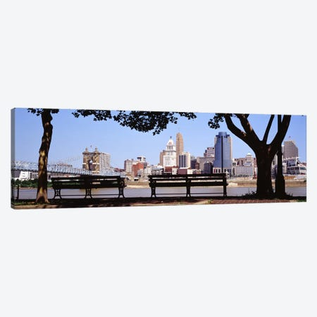 Cincinnati OH Canvas Print #PIM4154} by Panoramic Images Canvas Artwork