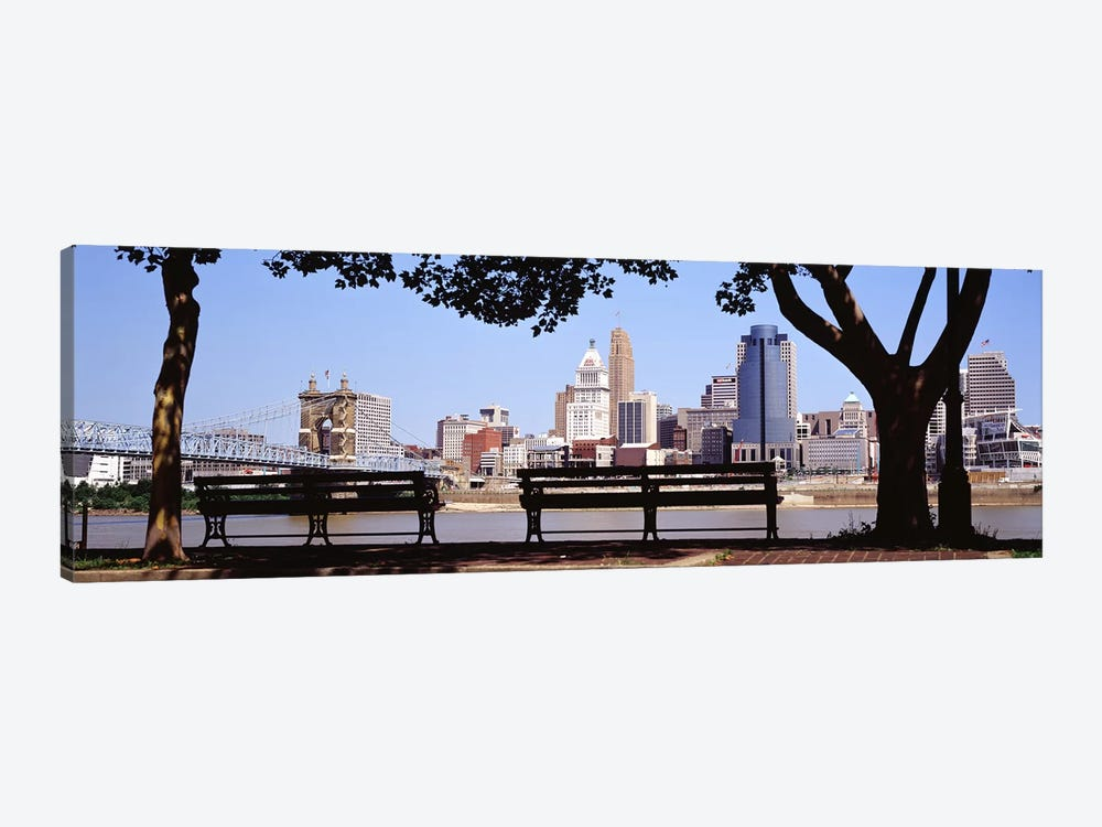 Cincinnati OH 1-piece Canvas Wall Art