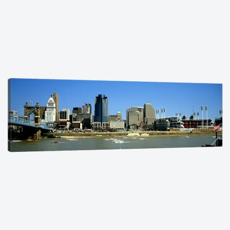 Cincinnati OH #2 Canvas Print #PIM4155} by Panoramic Images Canvas Wall Art