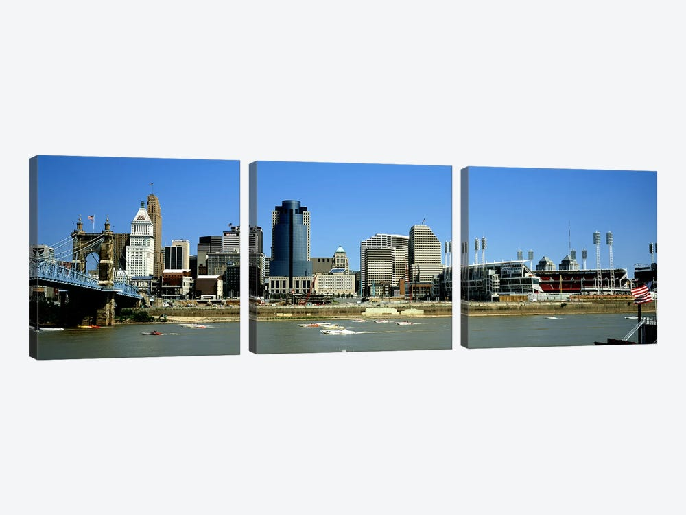 Cincinnati OH #2 by Panoramic Images 3-piece Canvas Art Print