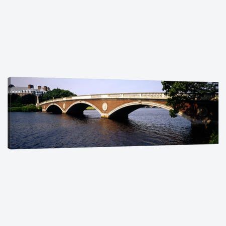 Arch bridge across a river, Anderson Memorial Bridge, Charles River, Boston, Massachusetts, USA Canvas Print #PIM4164} by Panoramic Images Canvas Print
