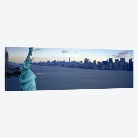 USA, New York, Statue of Liberty #2 Canvas Print #PIM4166} by Panoramic Images Canvas Print