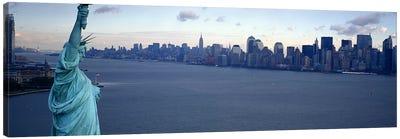 USA, New York, Statue of Liberty #2 Canvas Print #PIM4166