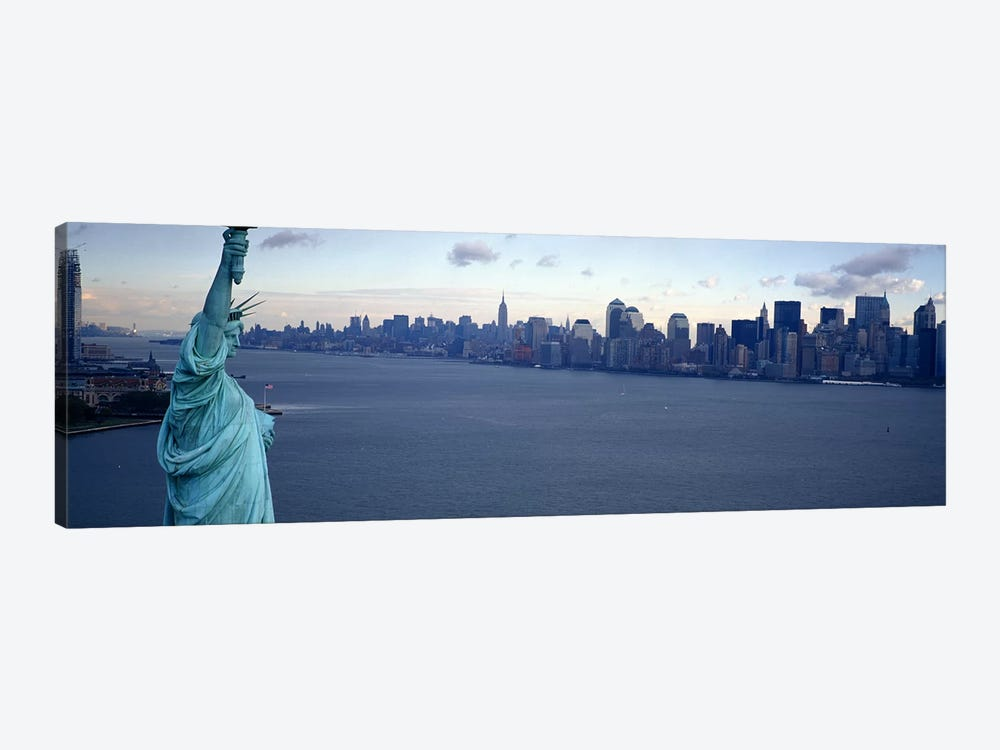 USA, New York, Statue of Liberty #2 by Panoramic Images 1-piece Canvas Print