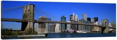 USA, New York, Brooklyn Bridge Canvas Print #PIM4171