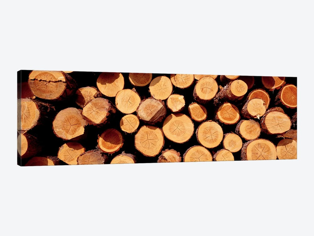 Logs by Panoramic Images 1-piece Art Print