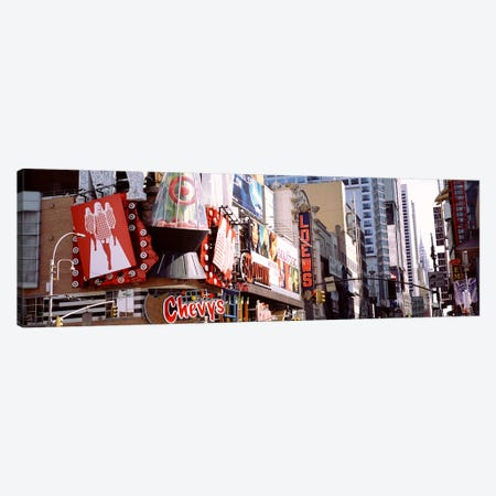 Times Square, NYC, New York City, New York State, USA Canvas Print #PIM4179} by Panoramic Images Canvas Print
