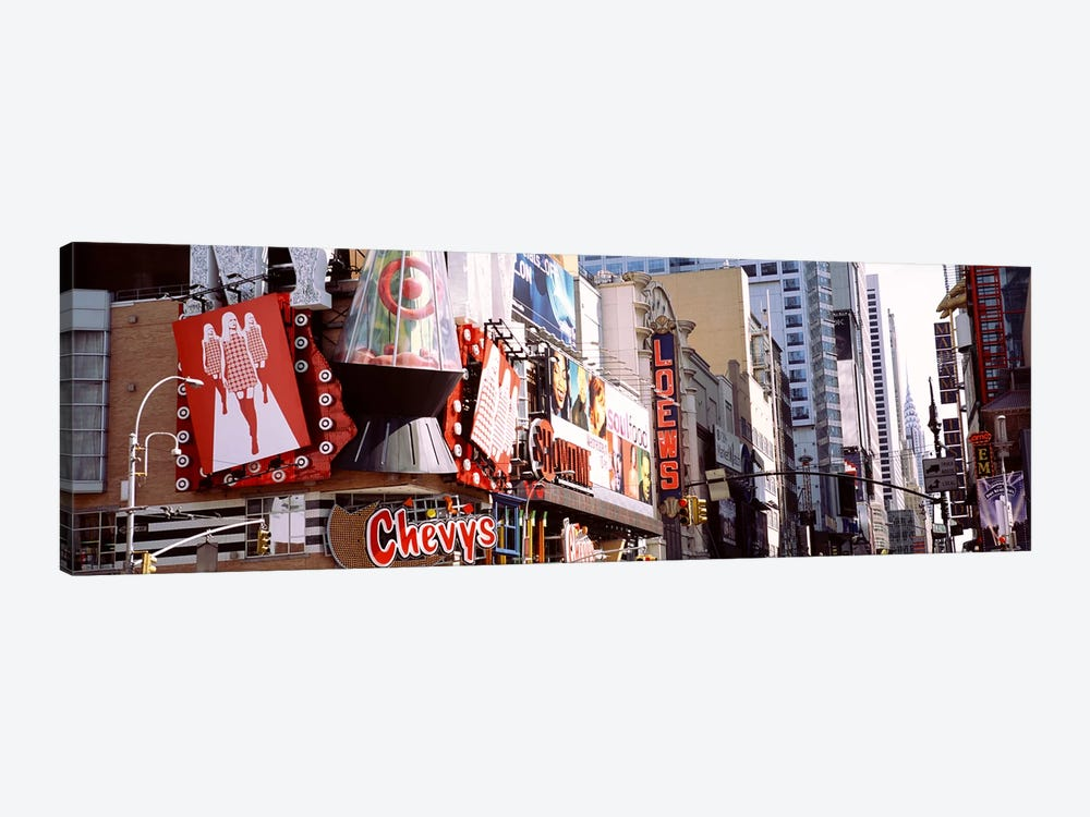 Times Square, NYC, New York City, New York State, USA by Panoramic Images 1-piece Canvas Print