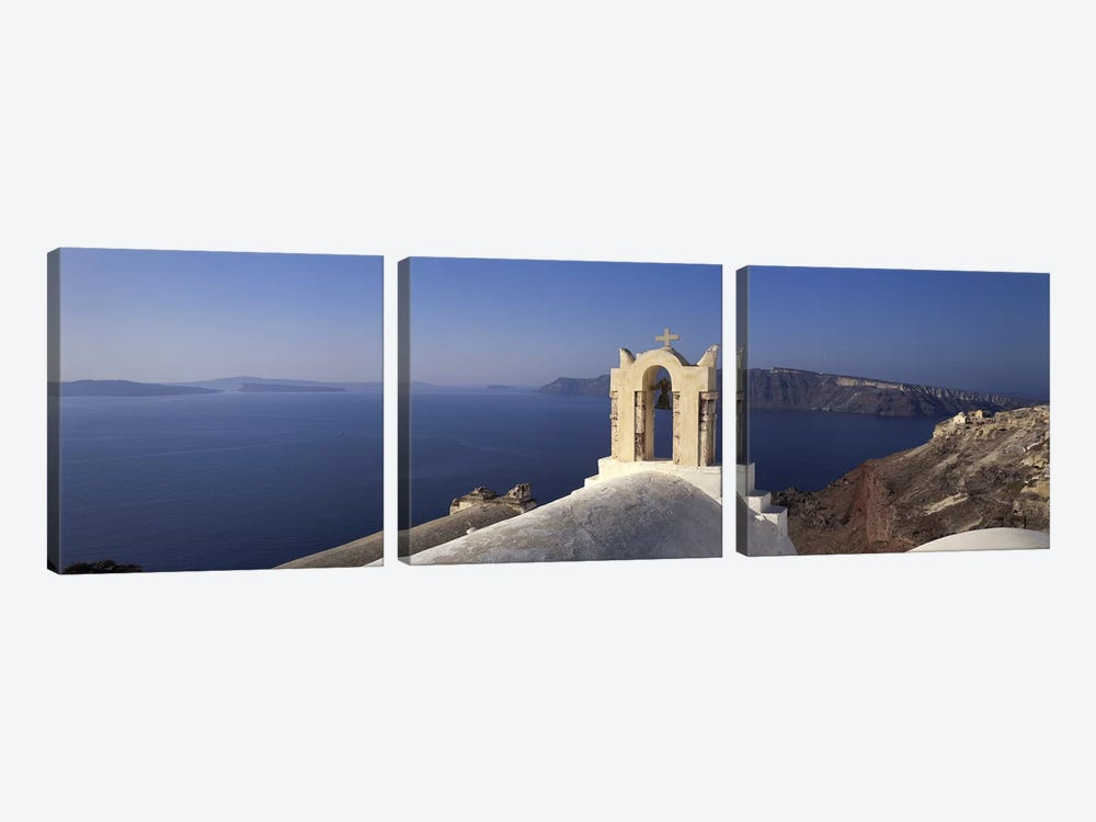 Greece by Panoramic Images 3-piece Canvas Art Print