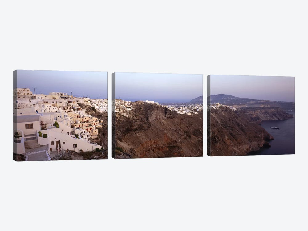 Greece 3-piece Canvas Wall Art