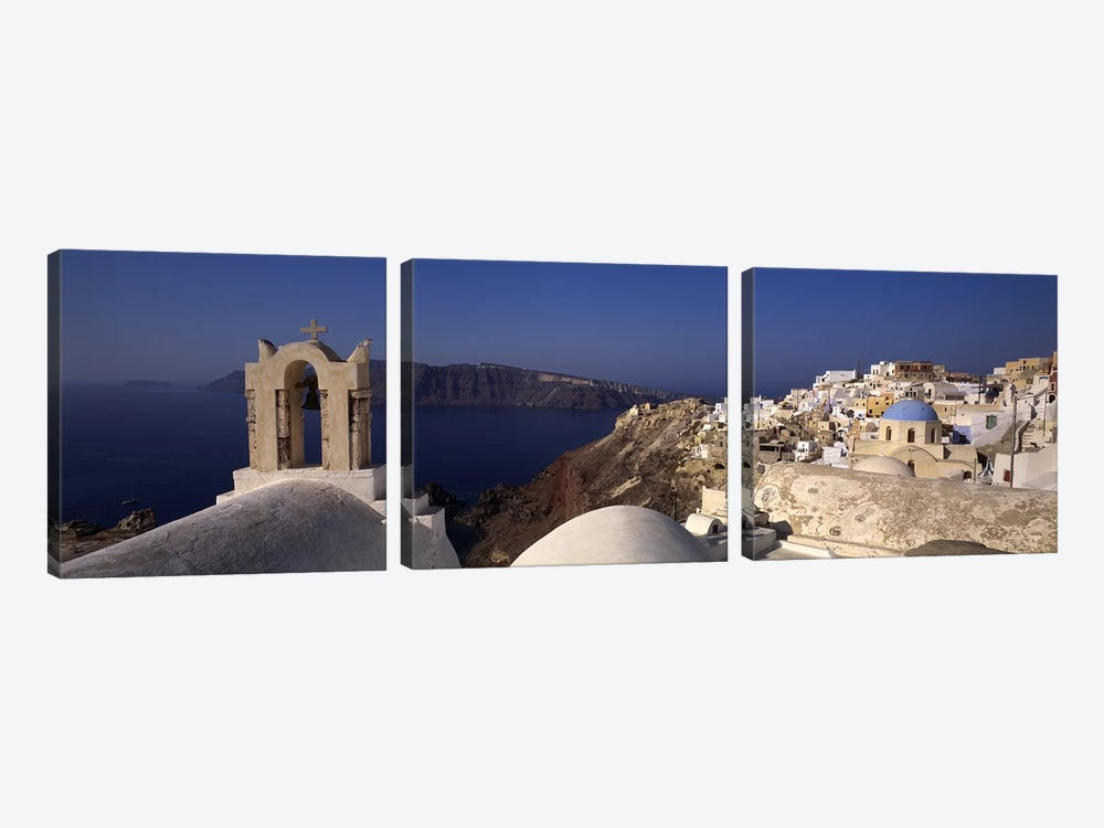Greece #2 by Panoramic Images 3-piece Canvas Art Print