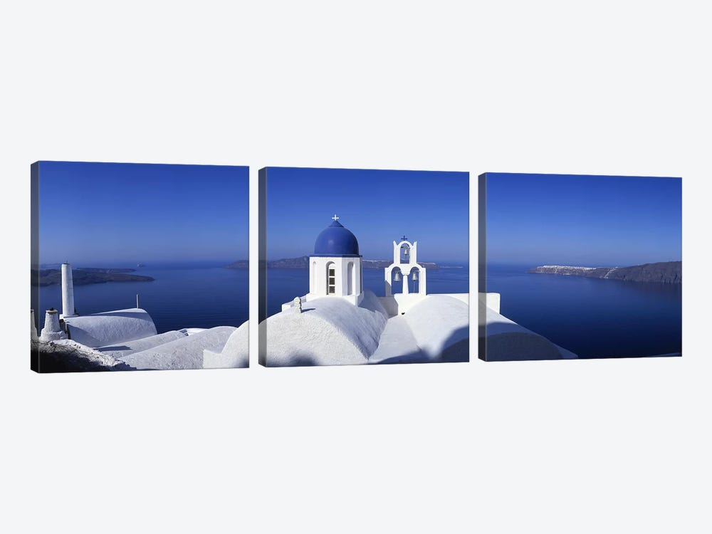 Greece #3 by Panoramic Images 3-piece Canvas Artwork