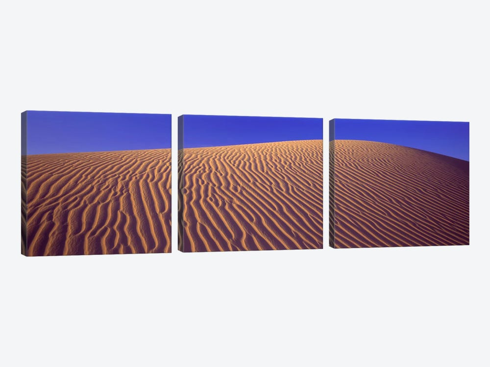 Sand Dunes Death Valley National Park CA USA by Panoramic Images 3-piece Canvas Artwork