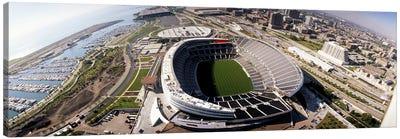 Aerial view of a stadium, Soldier Field, Chicago, Illinois, USA Canvas Print #PIM4193