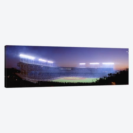 Baseball, Cubs, Chicago, Illinois, USA Canvas Print #PIM4199} by Panoramic Images Canvas Print