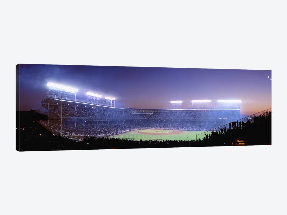 Baseball, Cubs, Chicago, Illinois, USA by Panoramic Images 1-piece Canvas Art Print