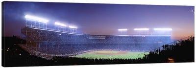 Baseball, Cubs, Chicago, Illinois, USA Canvas Art Print